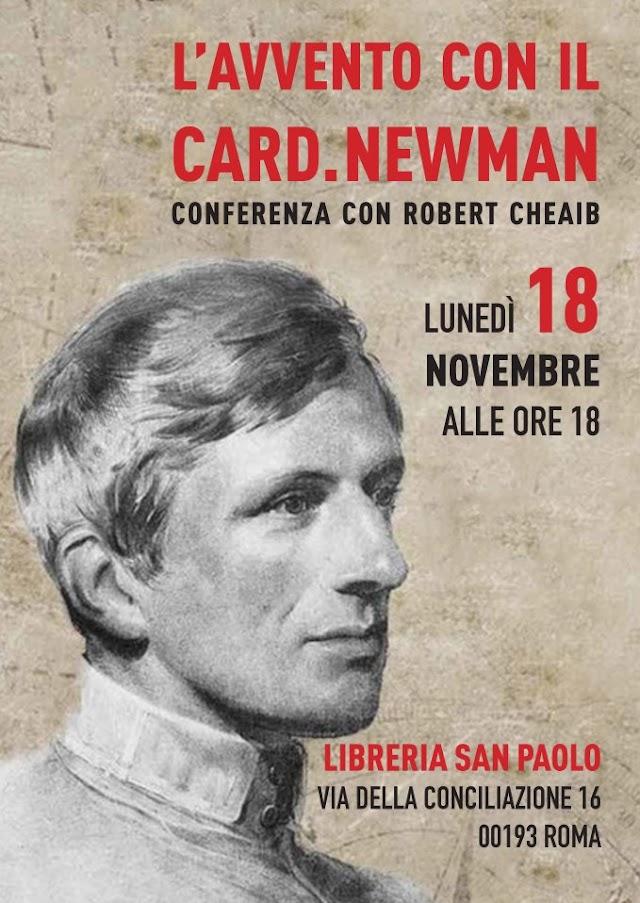 Appuntamento con Newman a Roma. Dettagli nell'articolo