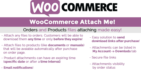 Download WooCommerce Attach Me! v1.78