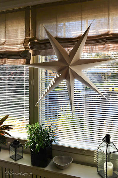 tähti orthex altaksteluruukku viherkasvi talvi aurinko ikkunalauta