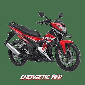 Sonic 150 Energetic Red  Nagamas Motor Klaten
