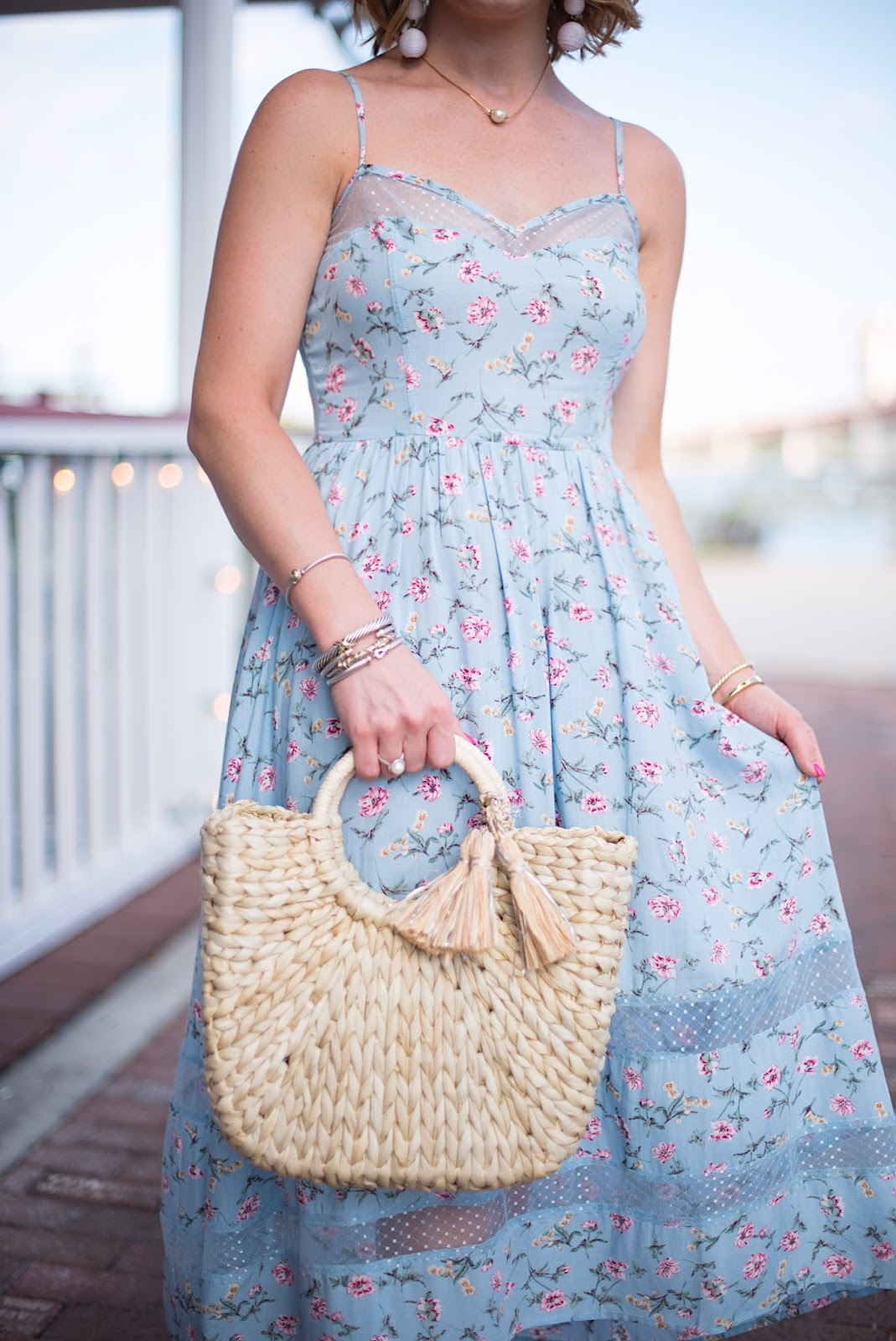 Hat Attack Straw Bag - Click through to see more on Something Delightful Blog!