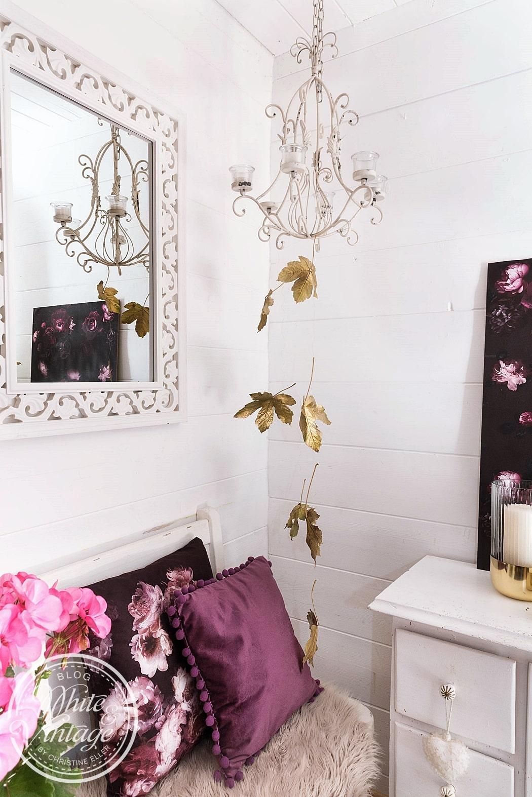Mit Naturmaterialien dekorieren bringt Natürlichkeit und Lebendigkeit in dein Zuhause