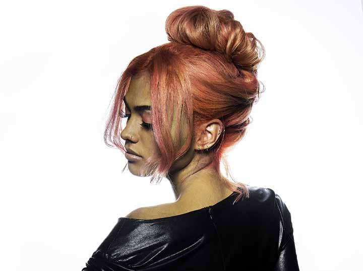 cabello coral piel morena 2020