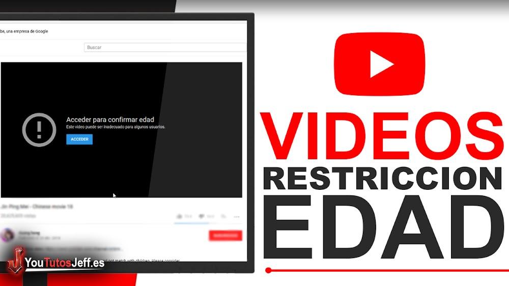 Como ver un Vídeo con Restricción de Edad en Youtube - Fácil y Rápido