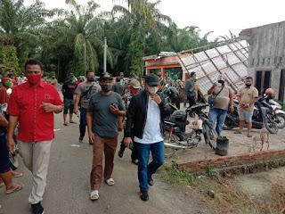 Setelah Banjir, Kini Angin Kencang Menerpa di Batu Bara, Zahir: Ini Bencana Alam