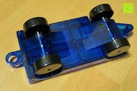 Rückseite: Playbees 100 Teile Magnetische Bausteine Set für 2D und 3D Form Konstruktionen, Regenbogenfarben Magnetspielzeug, Baukasten Magnetspiel, Magnetbausteine