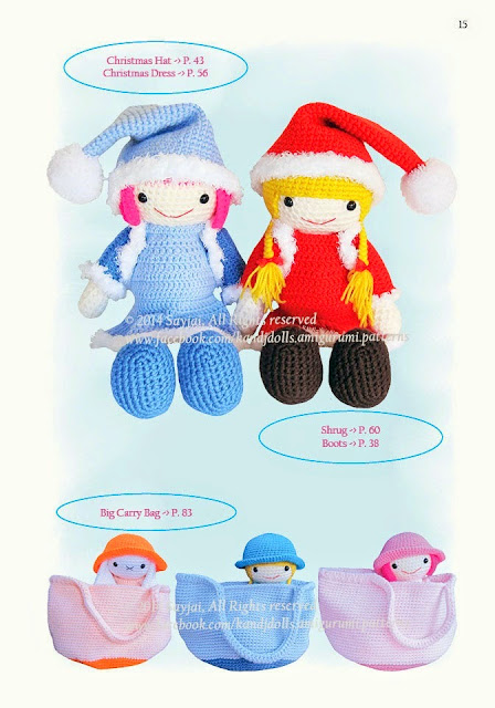 Amigurumi Doll Images and Patterns for 2019 - Page 16 of 43 ... | 640x448