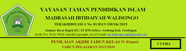 PAT BAHASA JAWA KELAS 4