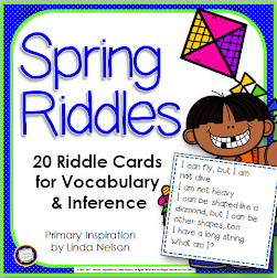 Spring Vocab Riddles