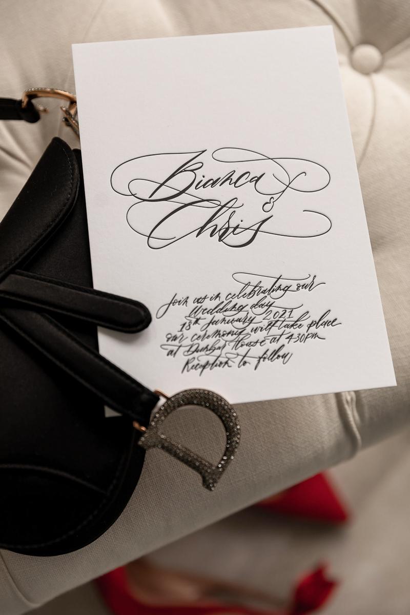 luxury calligrapher sydney LOVE COLLECTION wedding stationery invitations menus custom