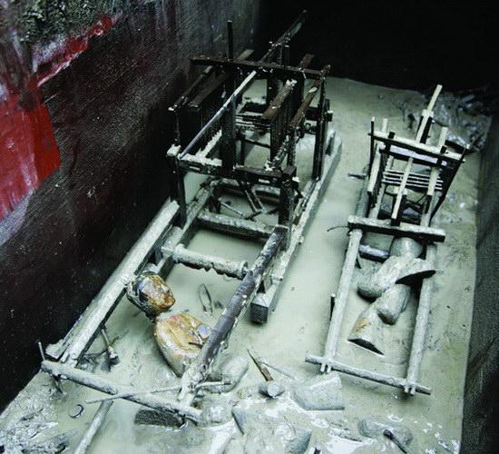 Laporan Penelitian Alat Tenun Sutra Bermotif Tertua Ditemukan di Makam Kuno China
