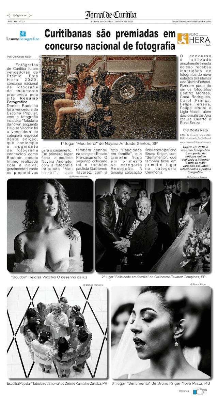 Curitibanas são premiadas em concurso nacional de fotografia