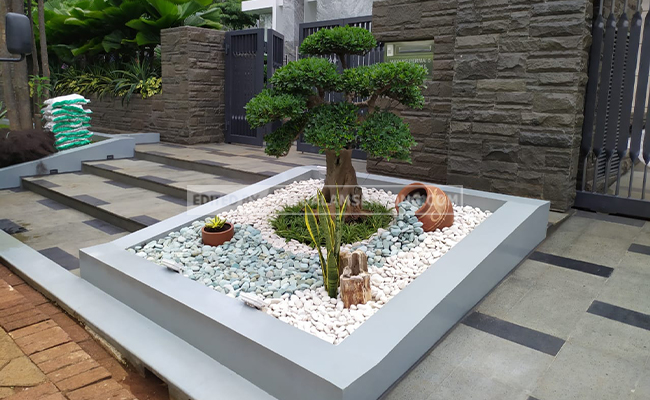 taman minimalis unik