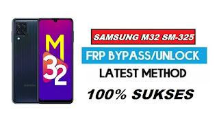 Remove FRP Bypass Samsung M32 SM-M325 - Verifikasi Akun Google