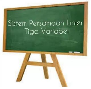 Sistem Persamaan Linier Tiga Variabel (SPLTV) Part 1
