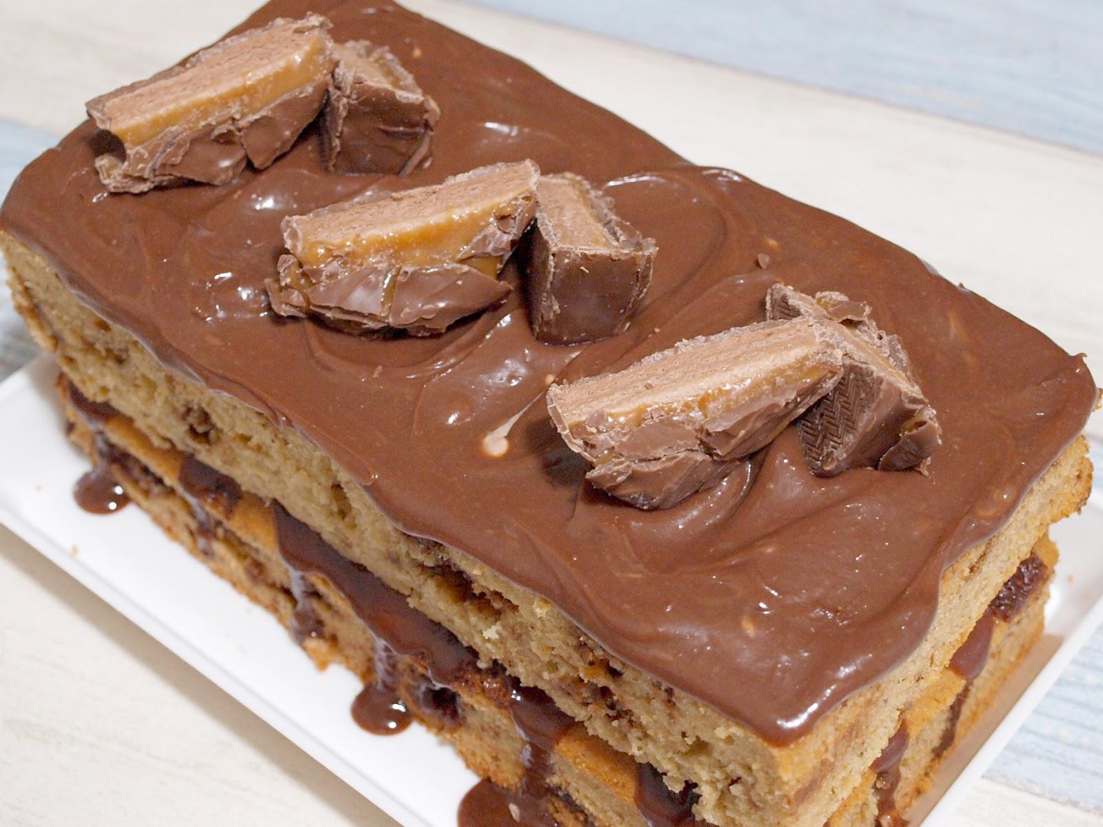 Mars Bar Birthday Cake Recipe