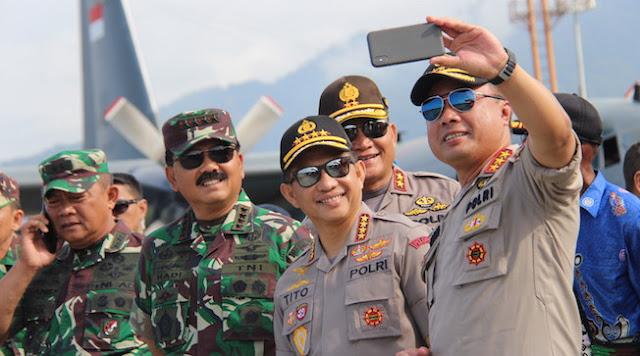 Panglima TNI-Kapolri Serasa Pulang Kampung