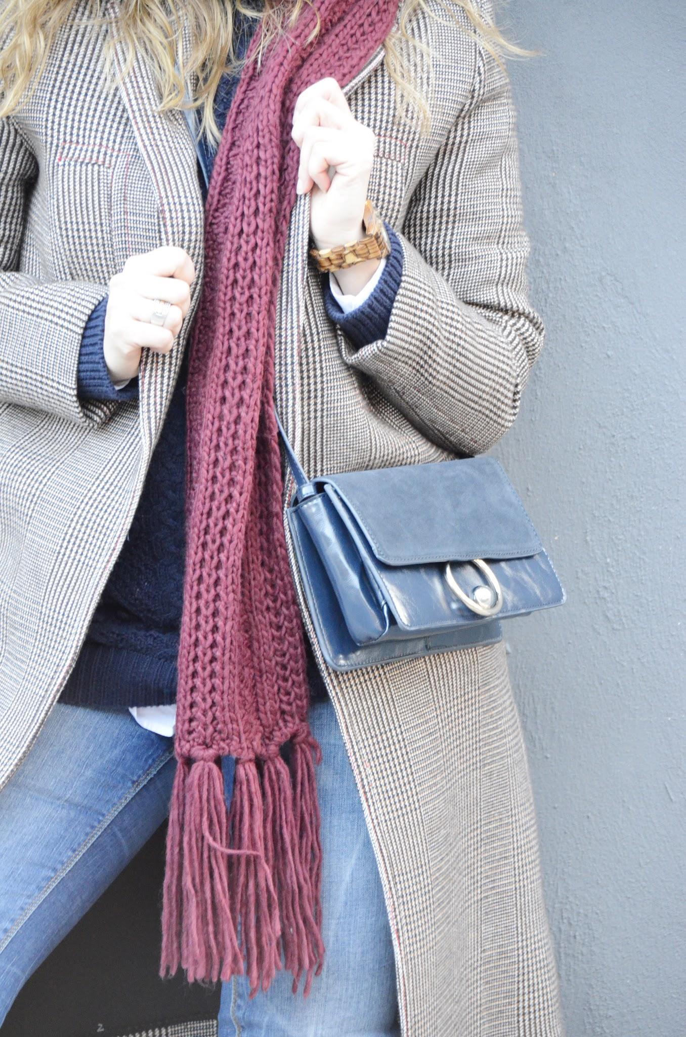 tendencia abrigo de cuadros blog de moda alicante