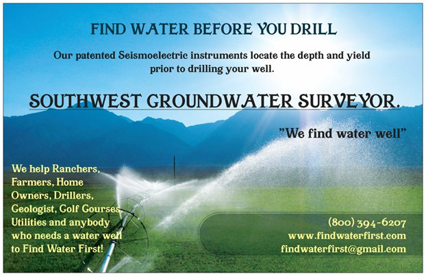 Book your groundwater survey today