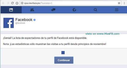 Conoce quién está viendo tu perfil de Facebook - MasFB