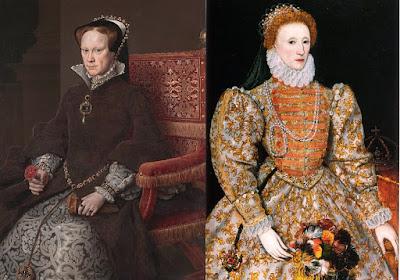 Queen Mary I & Queen Elizabeth I