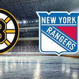 Rangers at Bruins