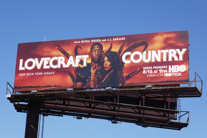 Lovecraft Country series premiere billboard