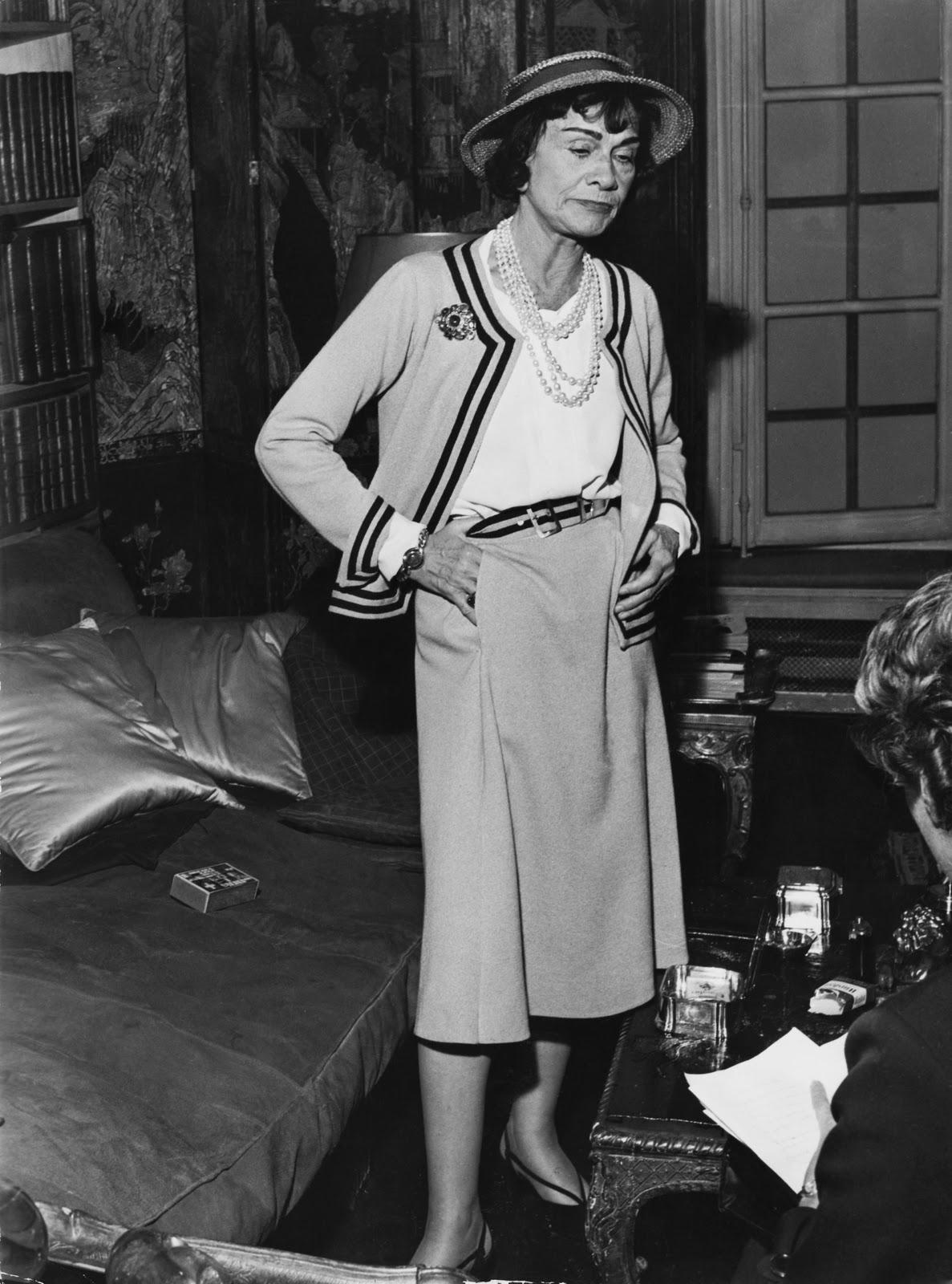 Coco Chanel 告訴你 女人最理想的衣櫥應該有6大元素: Coco Chanel's Love Of Hats