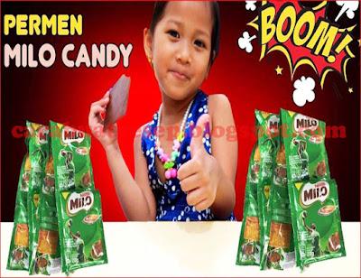 Foto Resep Permen Milo Setrika Candy Sederhana Spesial Asli Enak