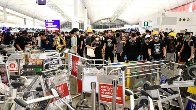 China: EEUU conspira con criminales en las protestas de Hong Kong