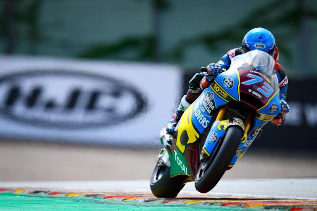 Alex Marquez vence Moto2 em Sachsenring