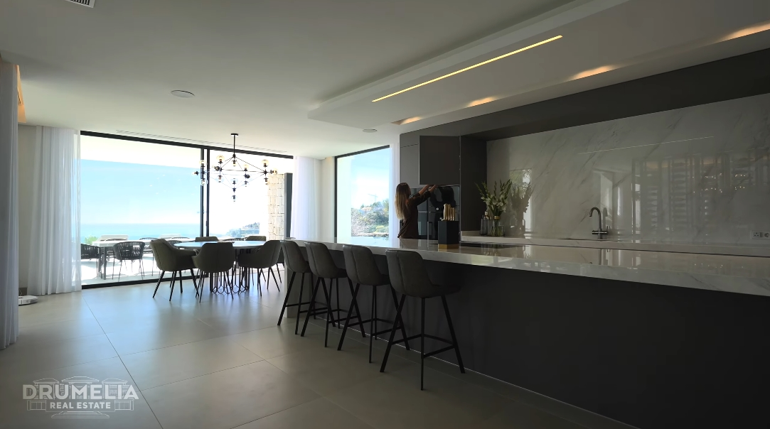 Luxury Modern Villa In El Madroñal Marbella W/ Panoramic Sea Views Interior Design Tour