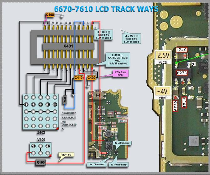 circuit diagram of nokia x2 02    nokia    7610 display lcd connector problem picture help     nokia    7610 display lcd connector problem picture help