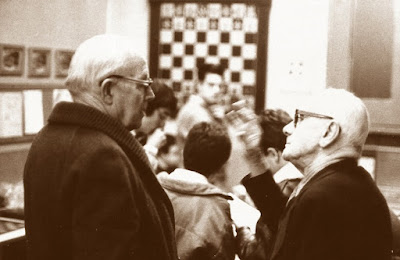 Los ajedrecistas Àngel Ribera y Josep Boguñà