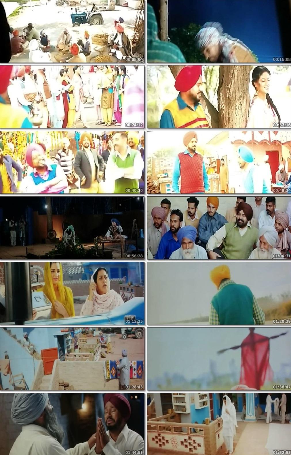 Screen Shot Of Mindo Taseeldarni 2019 300MB PdvdRip 480P Full Punjabi Movie Watch Online Free Download