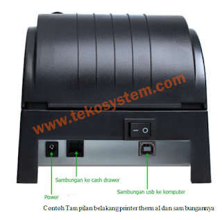 tutorial pemasangan printer thermal,printer dot matrix, barcode scanner, cash drawer