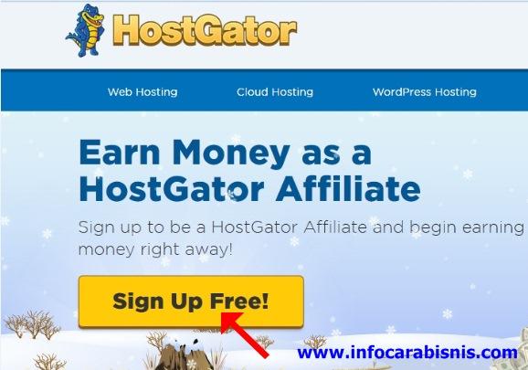 Cara Mudah Daftar Program Afiliasi Web Hosting di Hostgator