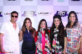Pre Celetion Of India Premiere Edm Holi Festival With Many Bollywood Celebrities   9th March 2017 034.JPG