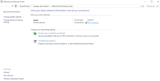 cara melihat password wifi yang tersimpan di Windows 10