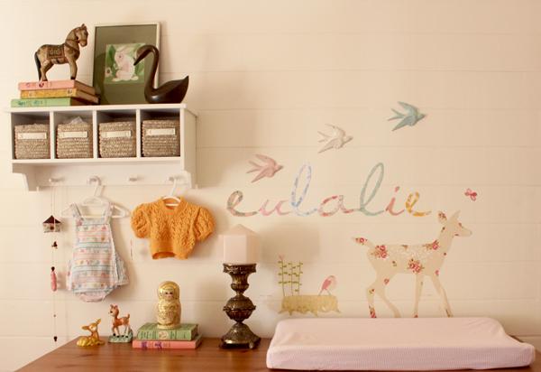 Interieur & Kids | Bohemian stijl kinderkamer / babykamer