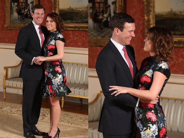 Zaręczyny księżniczki Eugenie z Jack'iem Brooksbank!