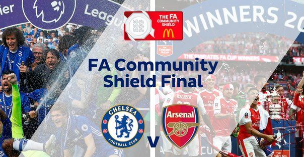 Chelsea vs Arsenal - FA Community Shield Minggu 6/8/2017