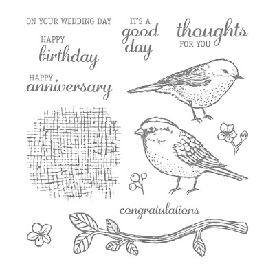 Best Birds Photopolymer Stamp Set, Stampin' Up!