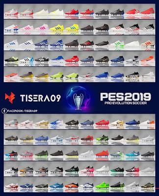 PES 2019 Bootpack v5 by Tisera09