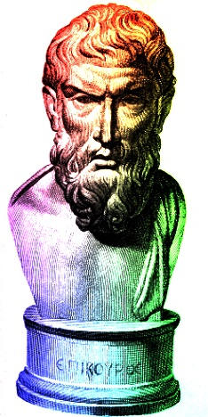 "Greek philosopher Epicurus, evolutionist and hedonist. Man has tried to elevate his wisdom ever since Eden. God's wisdom is foolishness to those who are perishing, but actually confounds worldly ""wisdom""."
