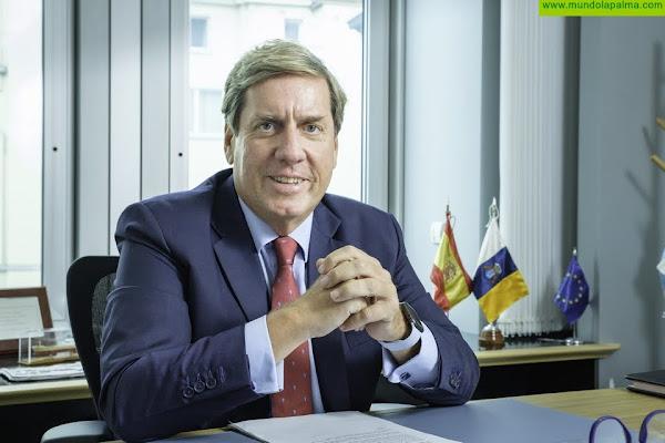 """Gabriel Mato: """"Hay que seguir trabajando muy duro para garantizar el futuro del sector agrícola canario tras el acuerdo transitorio del POSEI"""""""