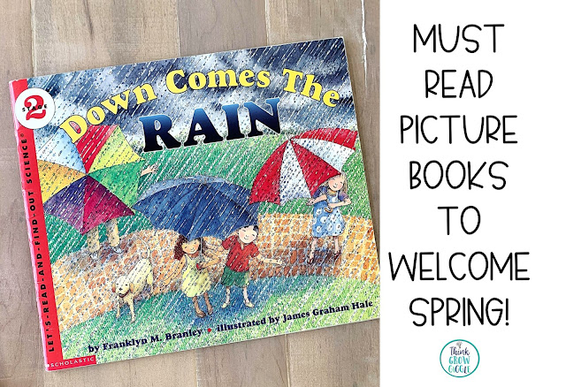 rain and weather picture books for kids