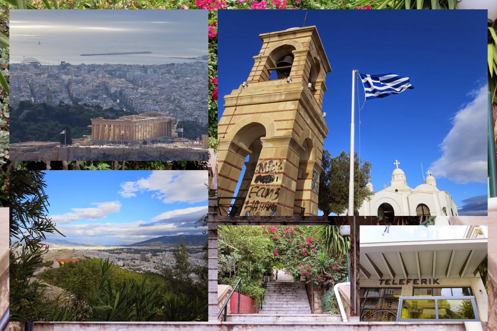 Athens - Lykavittos Hill
