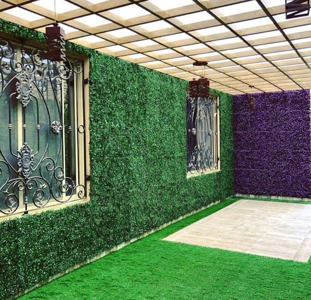 تركيب العشب الطبيعي في الدوحة