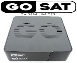 GOSAT S3 MAXX PRIMEIRA ATUALIZAÇÃO V1.001 S3maxx